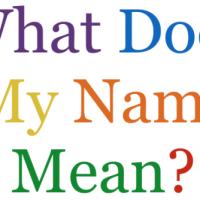 Kust on sinu nimi pärit ja mida see tähendab? Etümoloogia teadus.