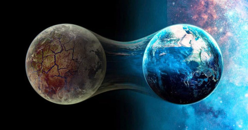 old 3d earth and new 5d earth