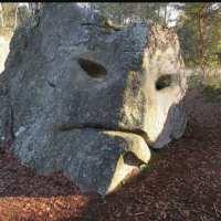 Iidsed, Gigantide kivistunud kujud looduses. Titaanid.